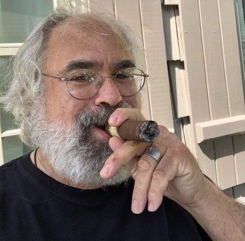 Cigar Selfie